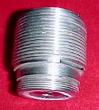 Fuze adapter 2 x 12 threads, stainless steel