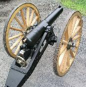 British 7 Pdr. Muzzle Loading Rifled Cannon